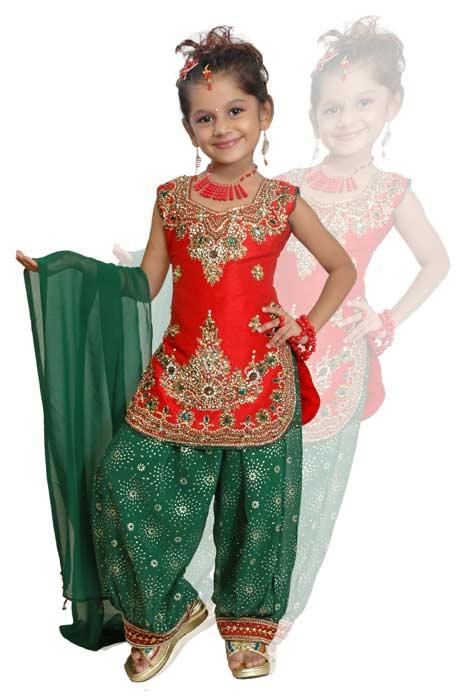 Indian Kids Dre... Indian Fashion For Kids