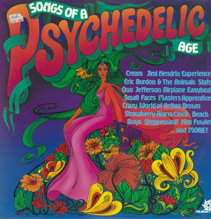 Various - Psychedelic Fields