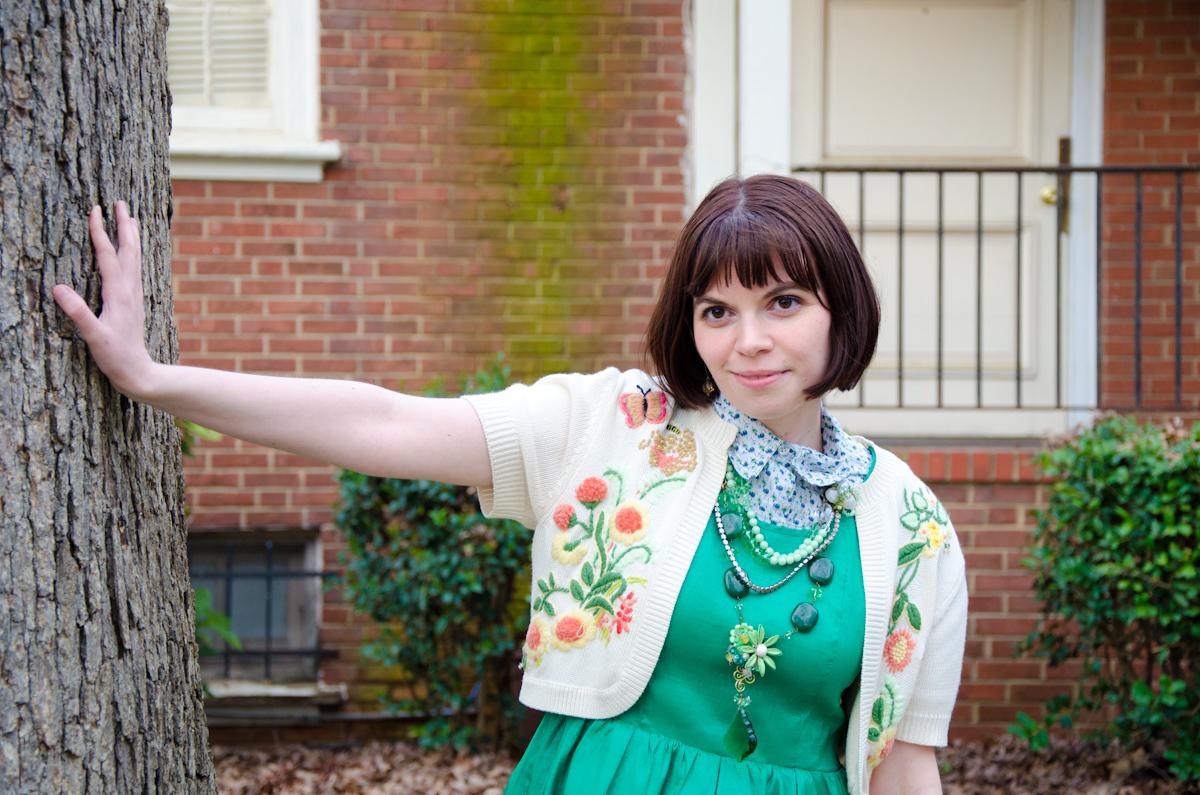 Cute Not Kawaii: But not a real green dress