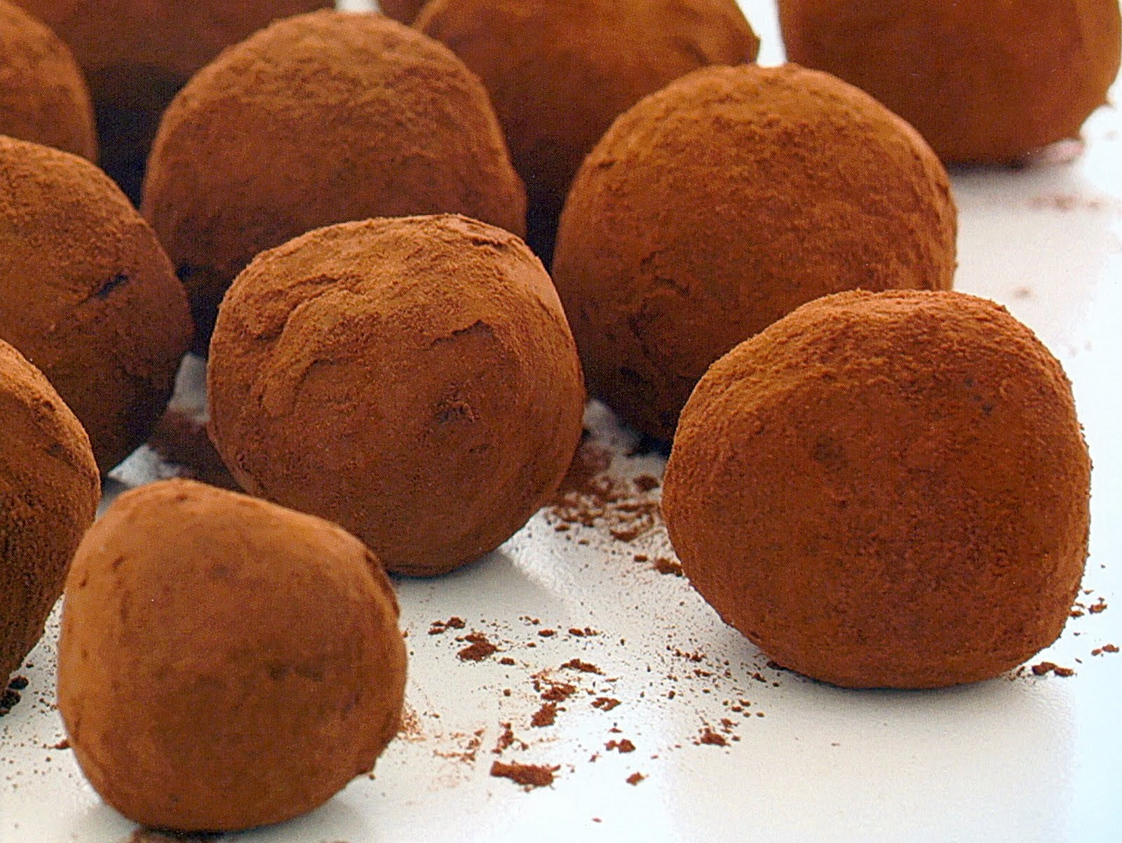 carolynn's recipe box: Chocolate Orange Truffles