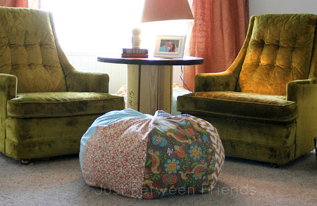 Simple DIY bean bags