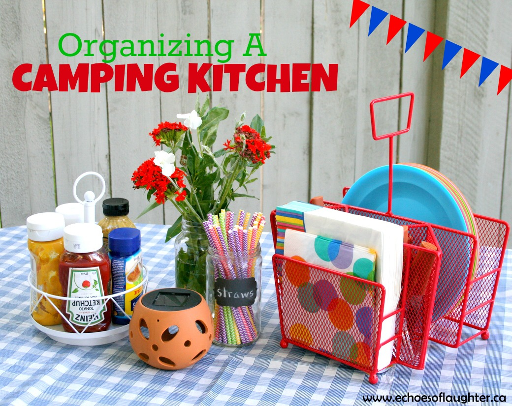 Create An Outdoor Camping Kitchen - Echoes of Laughter on motor coach outdoor kitchen, rv kitchen, camper leveling jacks, small camper kitchen, trailer kitchen,
