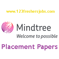 Mindtree Latest Placement Papers 2016-2017