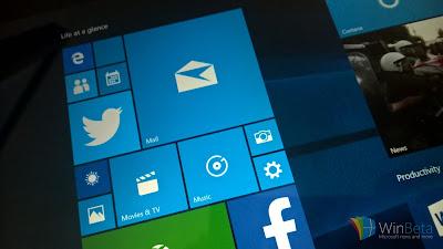 "Windows 10 Full Insider Build : Will be From RTM development Branch ""TH1"""