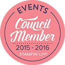 Stampin Up! Events Council Member