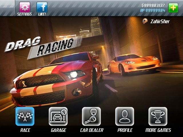 Nation Drag Racing v1.6.6 senza jailbreak iPhone RP e soldi illimitati