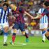 اهداف مباراة برشلونة ضد ريال سوسيداد 2-0 كاس الملك