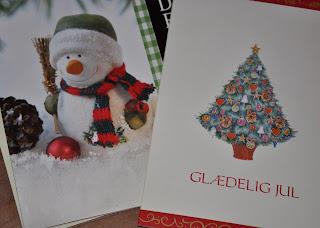 Der skrives julekort