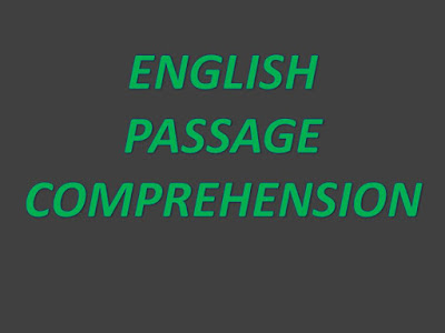 IBPS CLERK :: ENGLISH PASSAGE COMPREHENSION