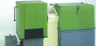 caldera con limpieza automática