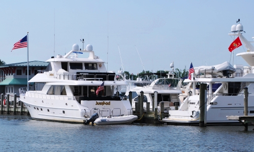 Yachts in Annapolis