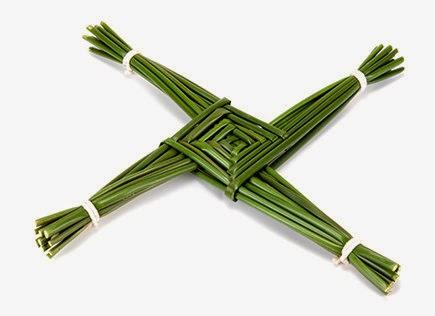 Imbolc - Cruz de Brigid
