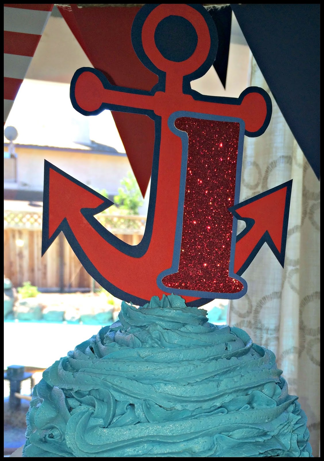 Cake Toppers Birthday Hobby Lobby : dodd it up: A Nautical Birthday - Owen is ONE!