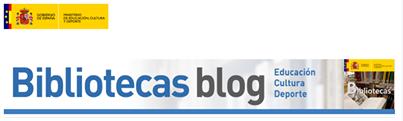 Blog de las Bibliotecas y Centros de Documentación del Ministerio de Educación, Cultura y Deporte.