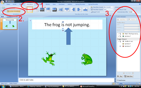 how to add an animated picture to powerpoint