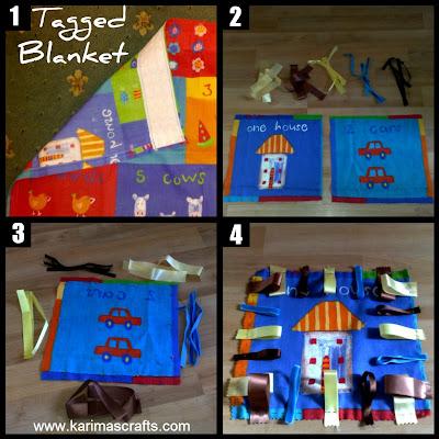muslim blog tagged blanket tutorial