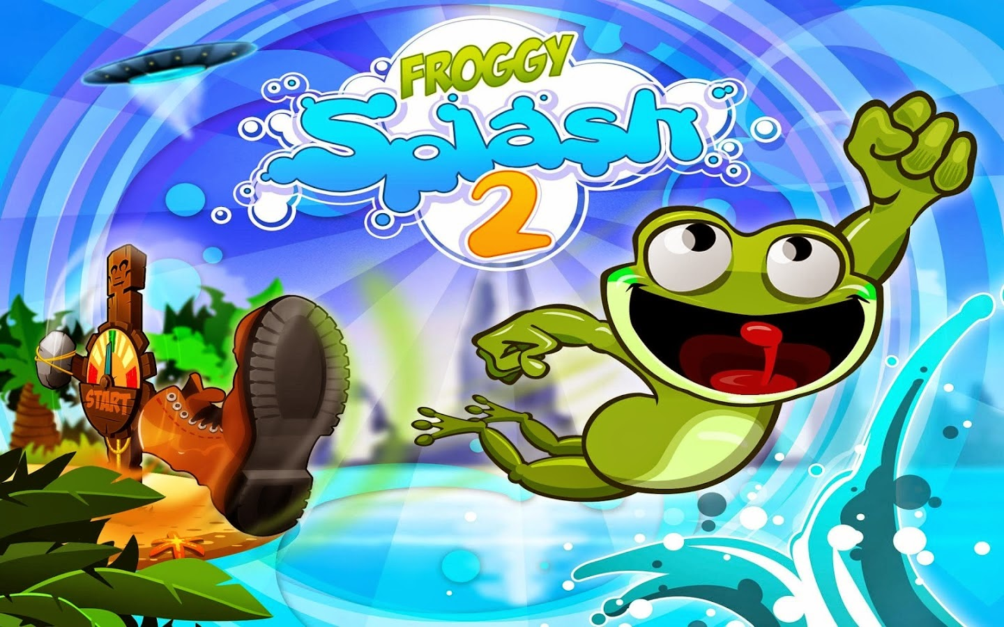 Froggy Splash 2 v1.0.0 APK+DATA [Mod Money]