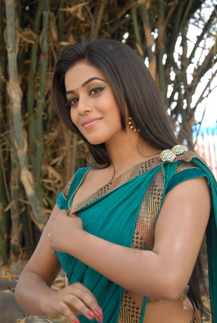 Tamil Actress Poorna Saree Photos