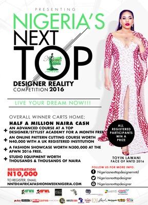 NIGERIA'S NEXT TOP DESIGNER 2016
