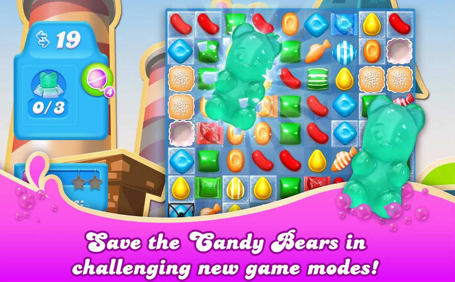 Candy Crush Soda Saga For PC Features