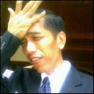 Kumpulan Foto Foto Ekspresi LUCU Jokowi