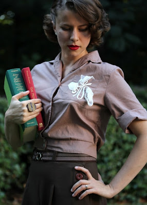 Vintage School Outfit #1950s #vintage #fashion #school #style
