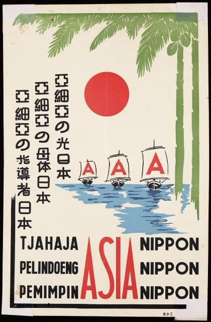 Poster Propaganda Jepang