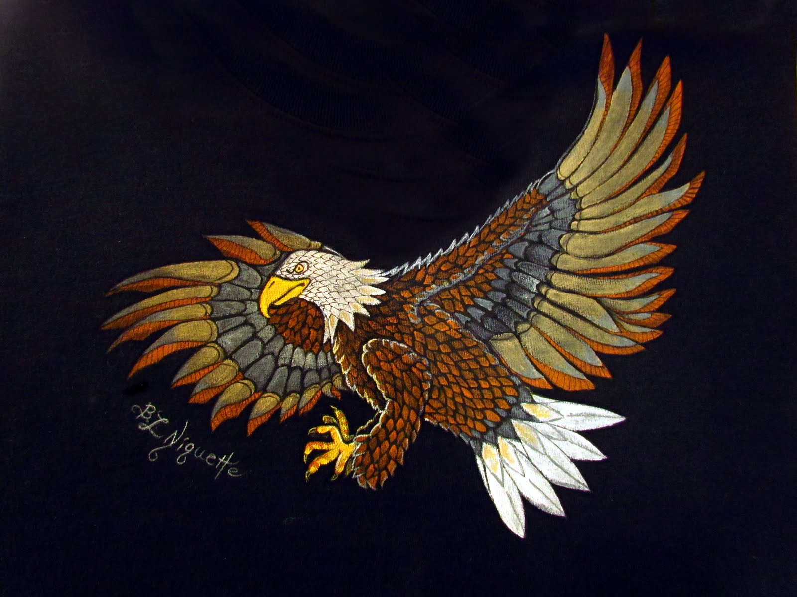 Here is another of the eagles  Eagles Drawings Color