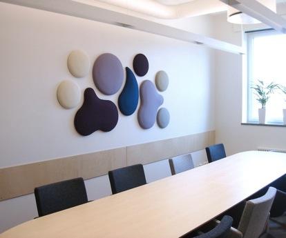 Marzua woolbubbles paneles decorativos ac sticos - Paneles decorativos para techos ...