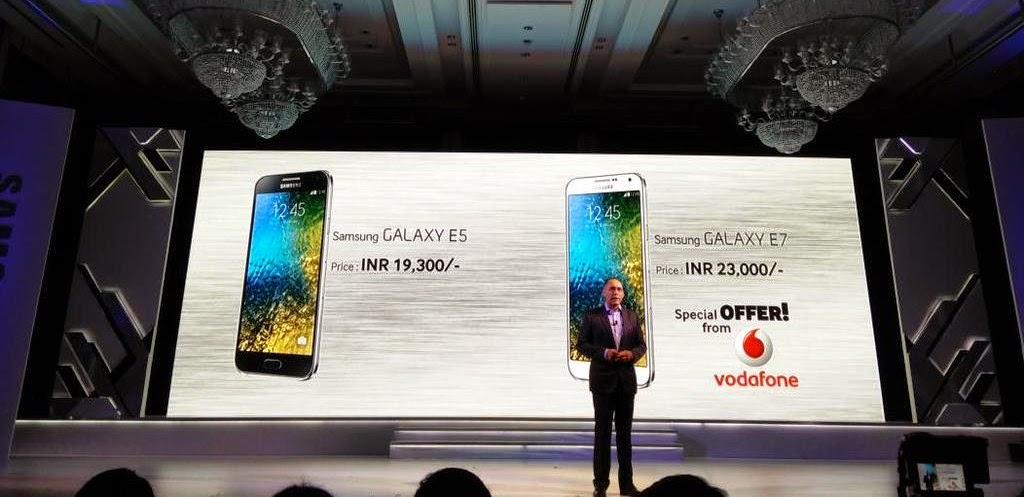 Samsung Galaxy E5, Samsung Galaxy E7