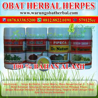 Obat Herpes Paket Komplit - Warung Obat Herbal