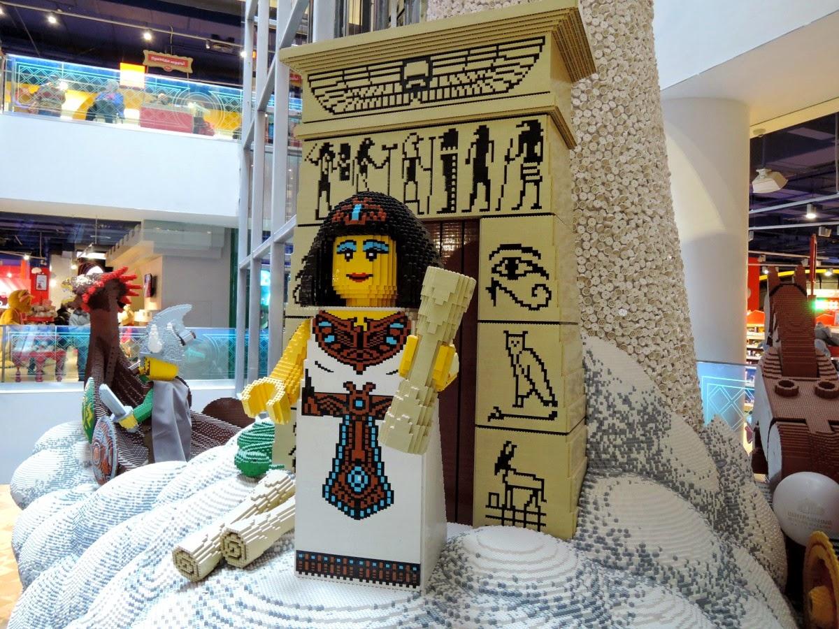 египет из лего