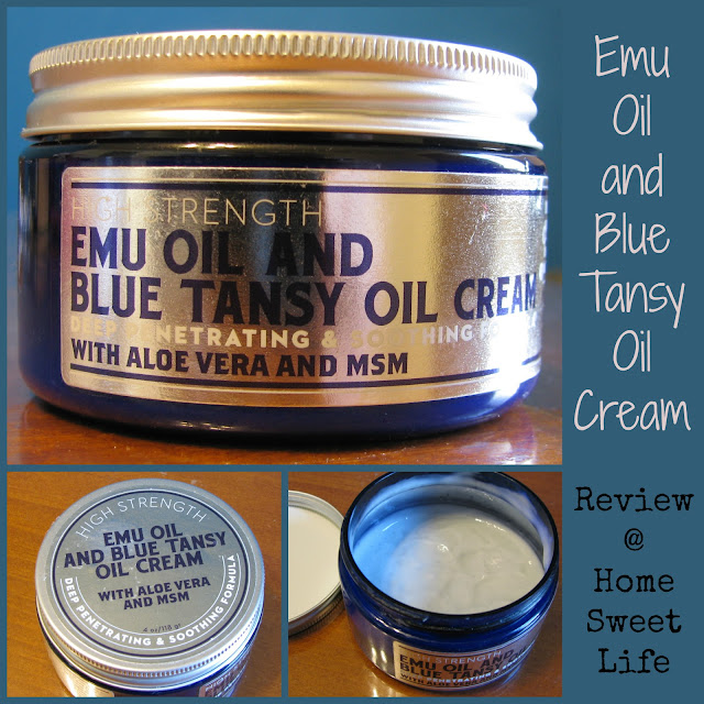 Blue Tansy Oil, blue emu cream