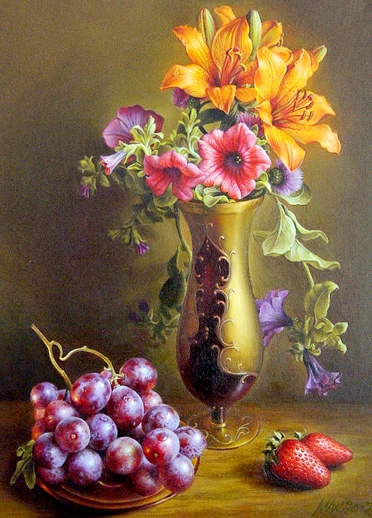 pintura-cuadros-de-flores