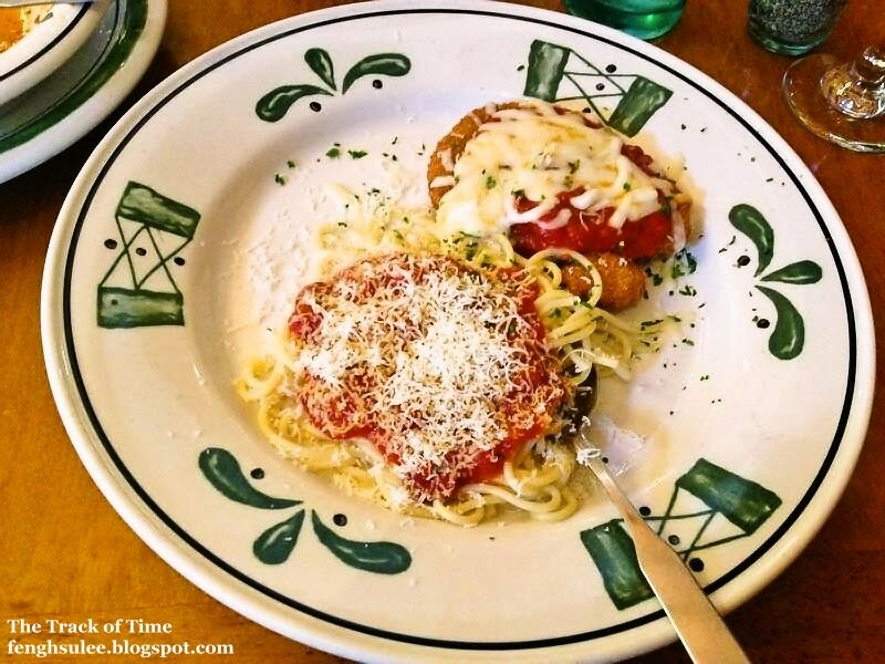 Olive Garden Chicken Parmigiana The Track Of Time