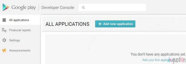 Cara upload aplikasi android ke google play store gupitan - Google play store developer console login ...