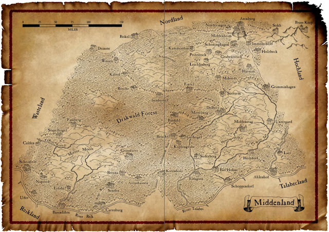 Middenheim Map Warhammer Fantasy Battles