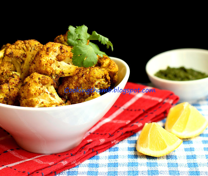 Baked Spiced Cauliflower