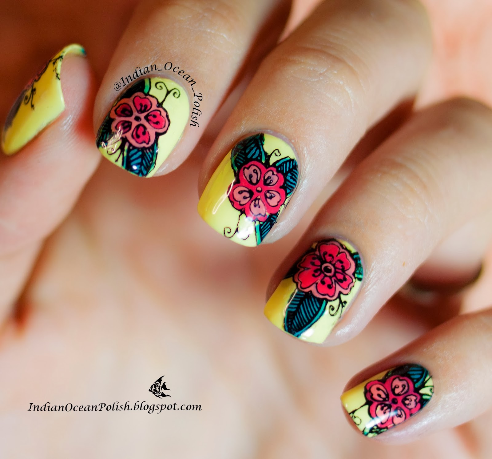 Indian Ocean Polish How To Make Your Own Nail Decals Tutorial - How to make nail decals at home
