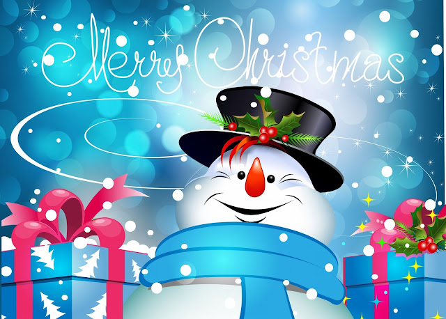 Christmas Snowmen   Christmas Wallpaper