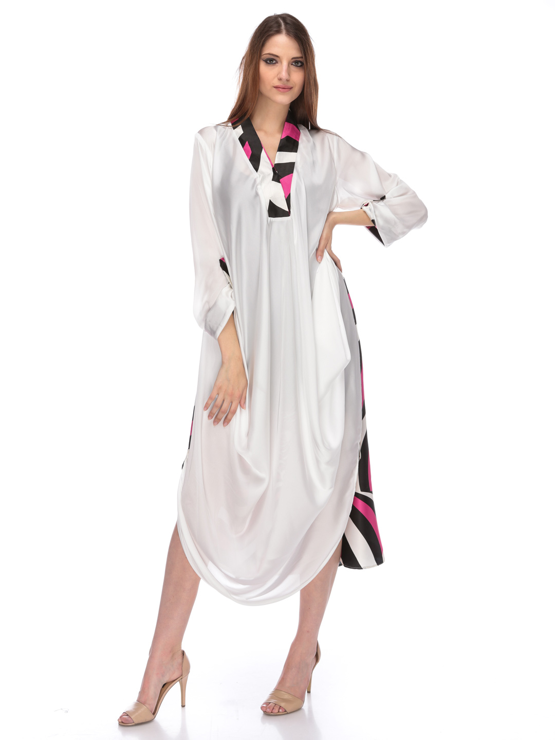 White Kurta Design 2013 Shirts/kurta Designs 2013