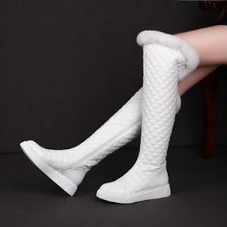 sepatu wanita panjang