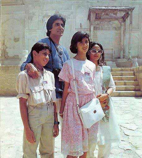 Abhishek Bachchan Childhood Pictures