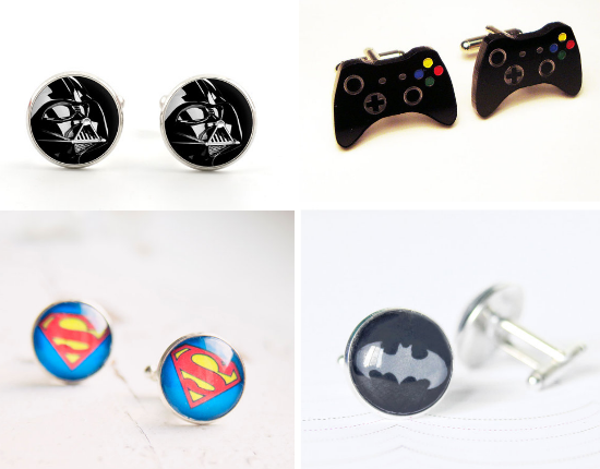 nerd groom cufflinks, alternative cufflinks, gemelli alternativi, matrimonio alternativo, alternative wedding