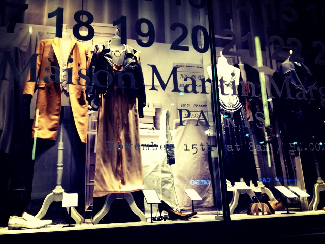 Maison Martin Margiela for hm window display