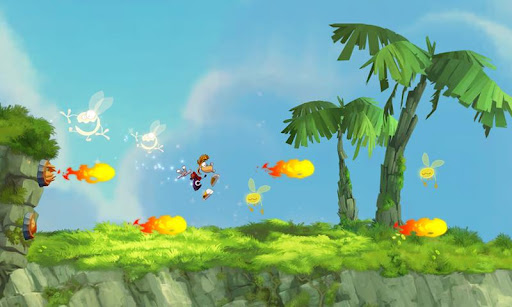 Rayman Jungle Run apk - best looking mobile games apps