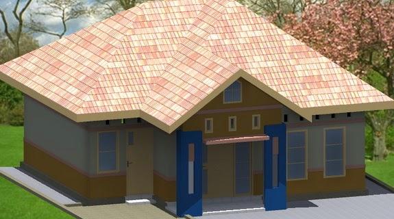 model atap rumah limasan