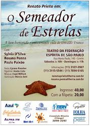 Sábado, 06 Peça Teatral O Semeador de Estrelas