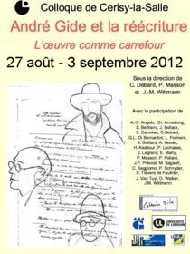 Colloque à Cerisy