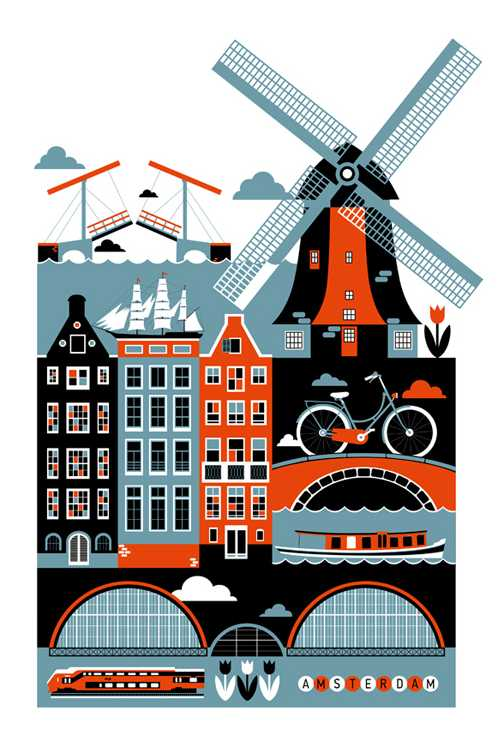 Amsterdam has a reputation as being a more adult holiday destination.
